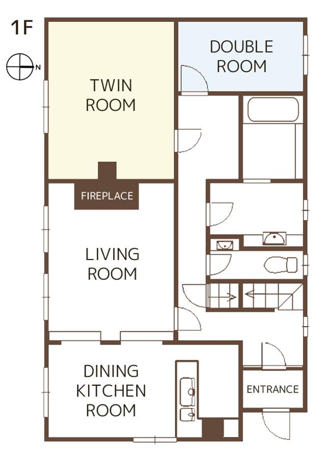 1階 1F floor